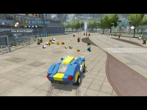 LEGO City Undercover (Wii U) - Lego City Airport: Part 4 of 4 (Collectibles Guide)