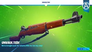Infantry Rifle UNVAULTED! // 3000+ Wins - Fortnite Chapter 2 (Fortnite Battle Royale LIVE)