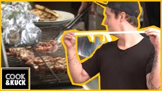 fettes barbecue selber grillen  mit genialen gã¤sten  cookampkuck 1
