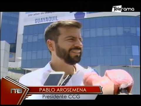 Cámaras de Comercio, Industrias y Construcción conmemoraron a Guayaquil por Bicentenario