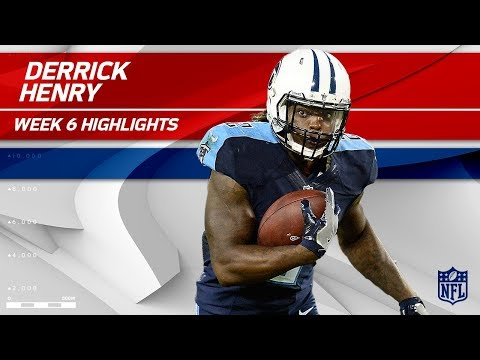 Video: Derrick Henry's Huge Night w/ 131 Rushing Yards & 1 TD! | Colts vs. Titans | Wk 6 Player Highlights