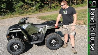 8. Polaris Sportsman 450 HO 2017