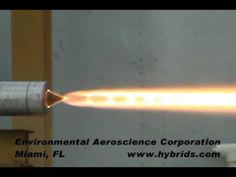 在室內成功打造火箭噴射系統!