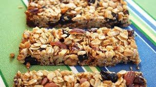 Granola Bars - Easy One-Bowl Recipe.