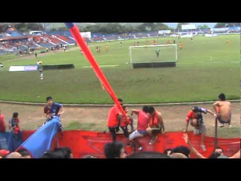 LA TURBA ROJA  2011 parte3 - Turba Roja - Deportivo FAS - El Salvador - América Central