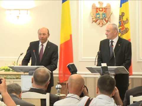 Declarația de presă a președintelui Nicolae Timofti cu prilejul vizitei președintelui României, Traian Băsescu