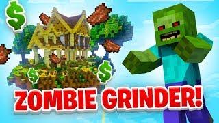 ZOMBIE GRINDER! - Minecraft SKYBLOCK #15