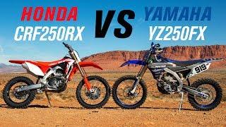 6. 2019 Honda CRF250RX vs Yamaha YZ250FX