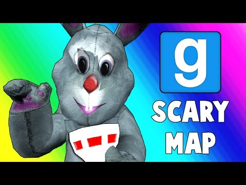 Gmod Scary Map (Not Really) - Evil Bunny's Haunted Mansion! (Garry's Mod Funny Moments)