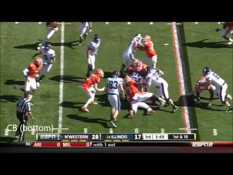 Tavon Wilson vs Northwestern and Ohio St. 2011 video.