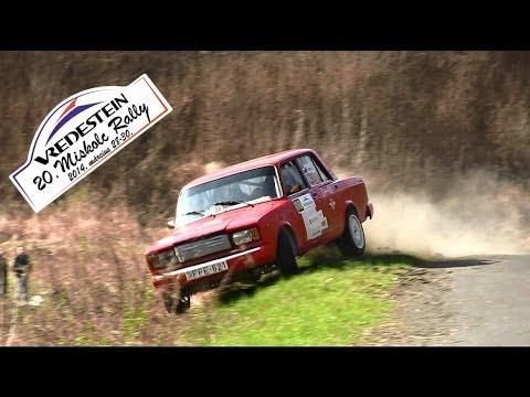20.VREDESTEIN Miskolc Rally 2014 action & crash