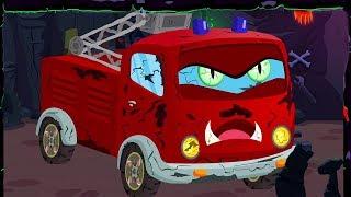 truk pemadam kebakaran | Cuci Mobil | mainan truk | Lagu Anak | Fire Truck | Kids Channel Indonesia
