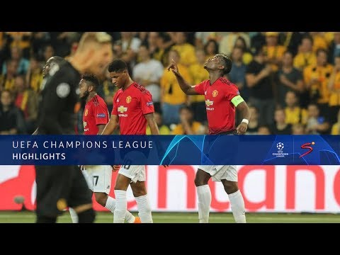 UEFA Champions League | Young Boys vs Man United | Highlights