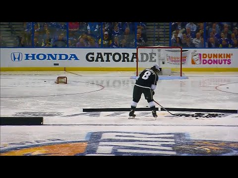 Video: Kings' Doughty laughs off NHL All-Star skills competition performance