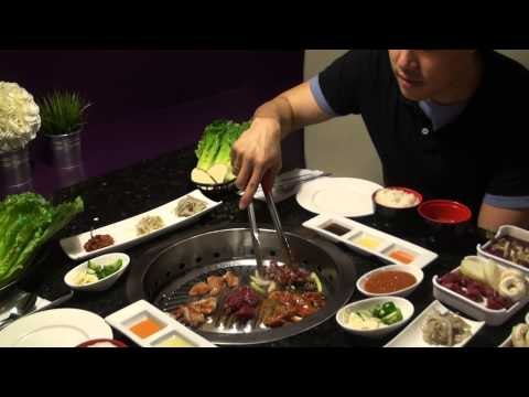 How to Eat Korean BBQ!! (Gangnam style BBQ restaurant London ON)