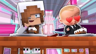 BABY ELLIE GOES ON A DATE WITH BOSS BABY! Minecraft LittleKelly (CustomRoleplay)
