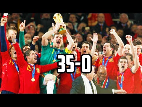Here's Why Spain Was UNBEATABLE From 2008-2012