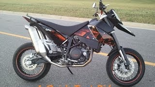 10. KTM 690 sm Quick Test Ride