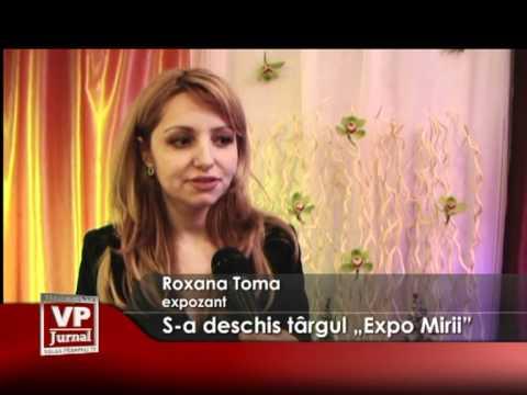 """S-a deschis târgul """"Expo Mirii"""""""