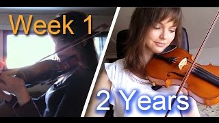Video Adult beginner violinist - 2 years progress video MP3, 3GP, MP4, WEBM, AVI, FLV Juni 2018