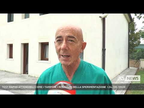 TEST RAPIDI ATTENDIBILI COME I TAMPONI, I RISULTATI DELLA SPERIMENTAZIONE  | 24/09/2020