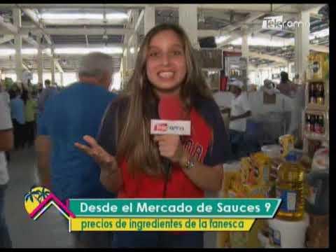 Desde el Mercado de Sauces 9 precios de ingredientes de la fanesca