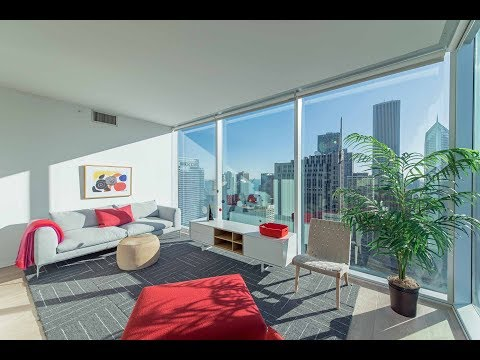 An Apex 3-bedroom, 2-bath at Streeterville's new Optima Signature apartments