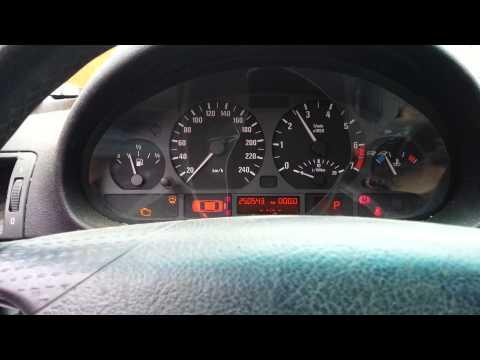 2001 BMW 320i E46 Sedan Engine Test Run 2.2 Inline 6 156K Miles/250K Kilometers