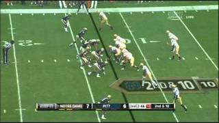 Brandon Lindsey vs Notre Dame 2011
