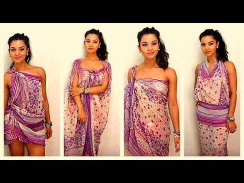 How to tie and style your sarong / pareo in 11 different ways - dianasaid.com