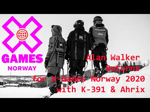 Alan Walker Returns for X-Games Norway 2020