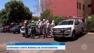 Moradores com contas atrasadas tem a energia elétrica cortada em Marília
