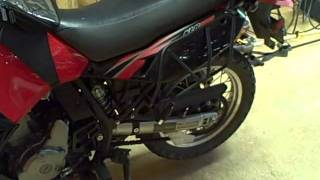 9. Motorcycle Repair: How to adjust the rear suspension preload on a 2009 Kawasaki KLR650