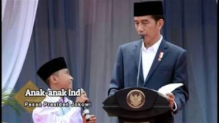 Video Presiden Jokowi : Anak Indonesia Jangan Takut Bermimpi/ Bercita-cita MP3, 3GP, MP4, WEBM, AVI, FLV Desember 2017