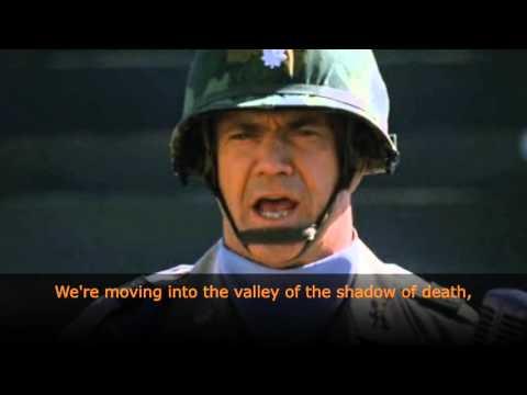 "Mel Gibson's Speech ""We Were Soldiers"" English Subtitles"