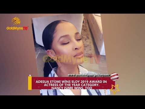 ADESUA ETOMI WINS ELOY 2019 AWARD IN  ACTRESS OF THE YEAR CATEGORY