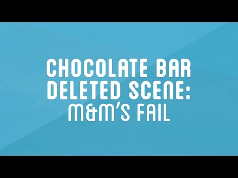 M&M's Fail (Deleted Scene) | How to Make Everything: Chocolate Bar