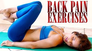 Back Pain Relief Exercises & Stretches
