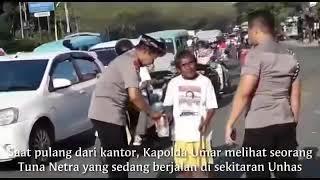 Download Video SOSOK KAPOLDA JAMAN NOW, BAHKAN PENYANDANG TUNA NETRA PUN DISAYANGINYA #IrjenUmar MP3 3GP MP4