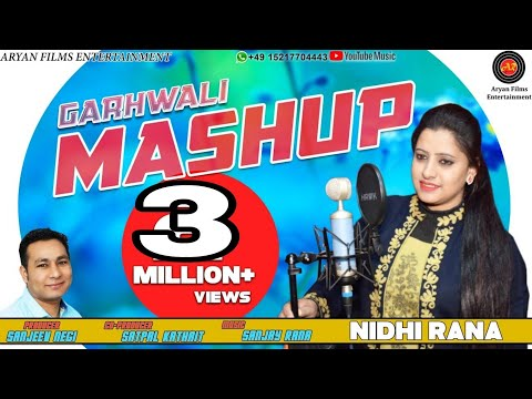 New Gharwali Dj Nonstop Mashup Songs 2019 | Nidhi Rana | Aryan Film Entertainment