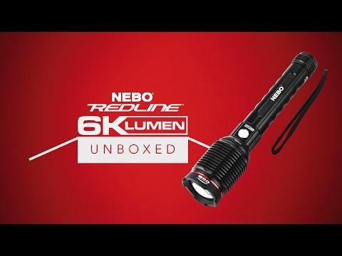 NEBO Unboxed: REDLINE 6K