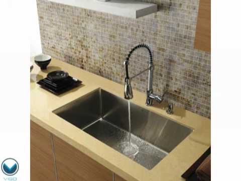 Video for 30-Inch Undermount Stainless Steel 16 Gauge Single Bowl Sink