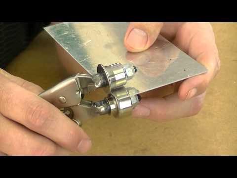 EF-60 Edge Forming Tool Demo (видео)