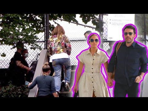 Ben Affleck And Jennifer Lopez Attend The Star-Studded Global Citizen Live Concert