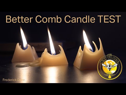 Better Comb synthetic Beeswax, is it good or bad? Candle Burn Comparison, real vs synthetic.