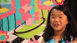 "Long Beach Quilt Festival, Sophie Rubin's ""Kids Eye Review"" #2 - Just Fun!"