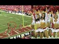 SH*T! Kansas City Cheerleader Gets DESTROYED by Camera Man.