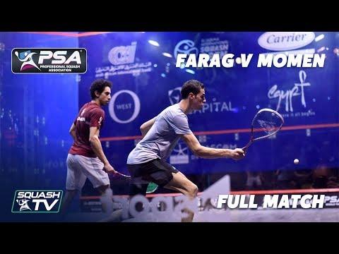 PSA Rewind - Farag v Momen - Full Squash Match - El Gouna 2019 Semi Final