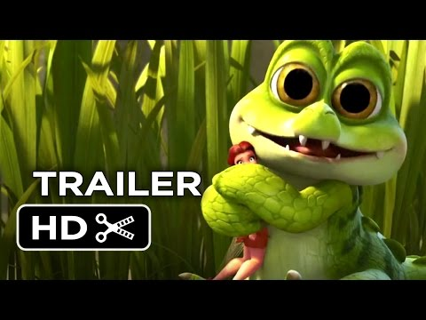 Tinkerbell And The Pirate Fairy Trailer 2 - Now On Blu-Ray (2014) - Tom Hiddleston Movie HD