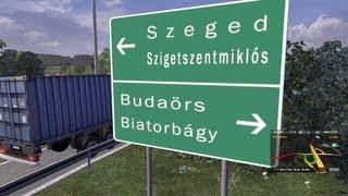 Torokbalint Hungary  city pictures gallery : Euro Truck Simulator 2 - Hungary/Magyarország Map Gameplay 7: Zsámbék - Törökbálint [HD]